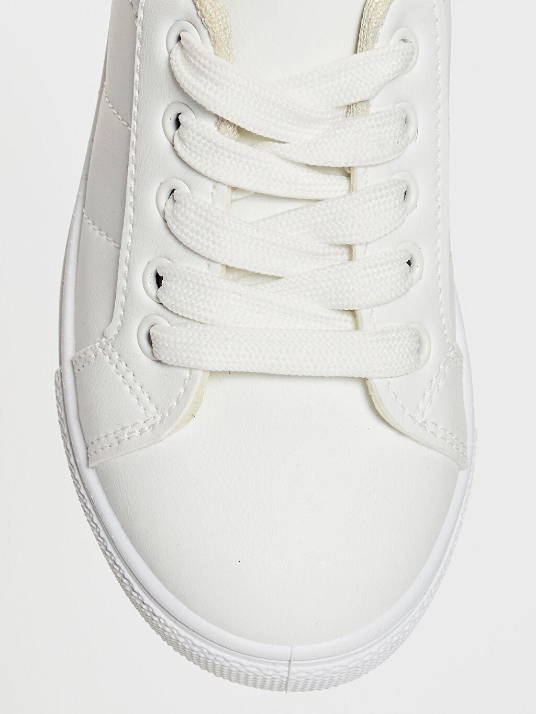 LC Waikiki Beyaz Erkek Çocuk 25-30 Numara Sneaker