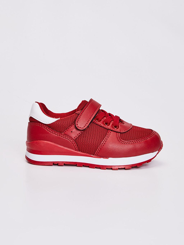 Kırmızı Erkek Çocuk Günlük Spor Ayakkabı 0S7206Z4 LC Waikiki