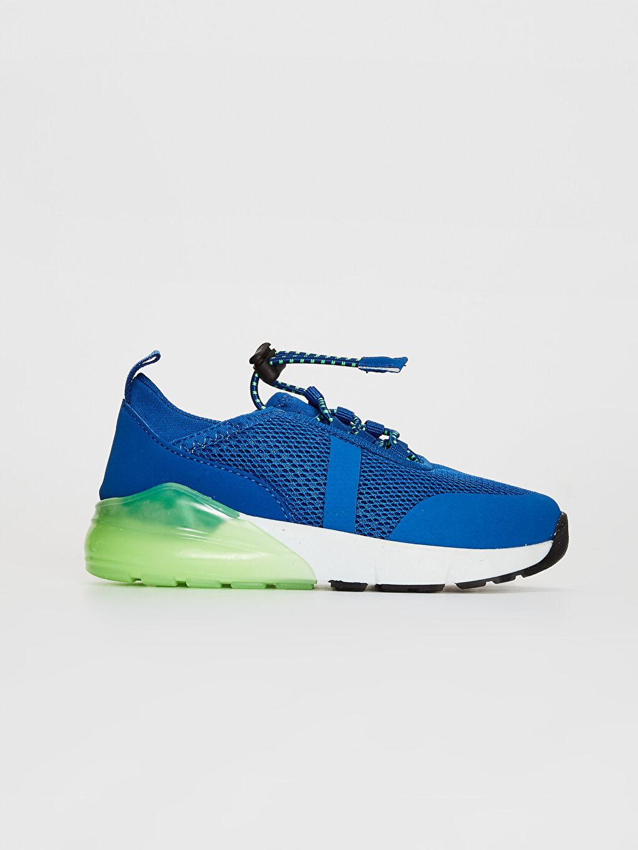 Mavi Erkek Çocuk Bağcıklı Aktif Spor Ayakkabı 0S7214Z4 LC Waikiki