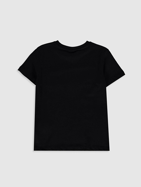 %100 Pamuk Normal Baskılı Tişört Bisiklet Yaka Kısa Kol Erkek Çocuk Yazı Baskılı Pamuklu Tişört