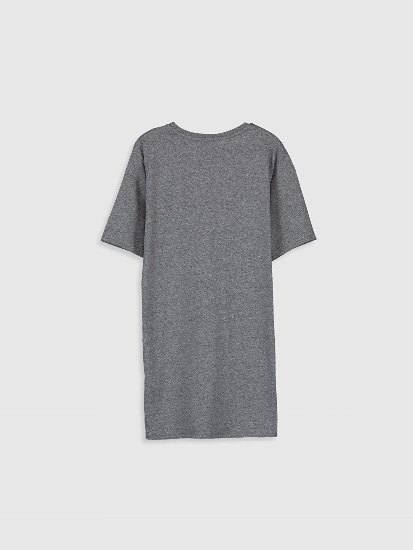 Erkek Çocuk Erkek Çocuk Baskılı Pul İşlemeli Tişört