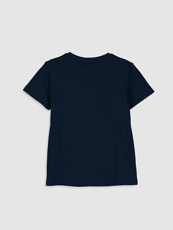 %100 Pamuk Normal Baskılı Tişört Bisiklet Yaka Kısa Kol Erkek Çocuk Baskılı Pamuklu Tişört