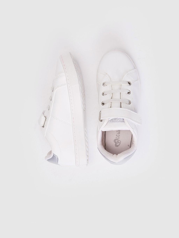 %0 Diğer malzeme (pvc)  Kız Çocuk 25-30 Numara Cırt Cırtlı Günlük Ayakkabı