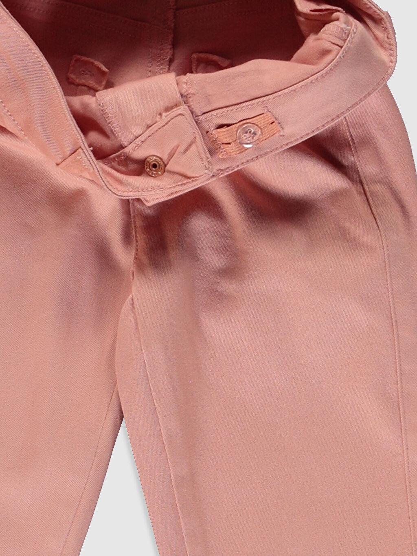 Kız Çocuk Kız Çocuk Slim Gabardin Pantolon