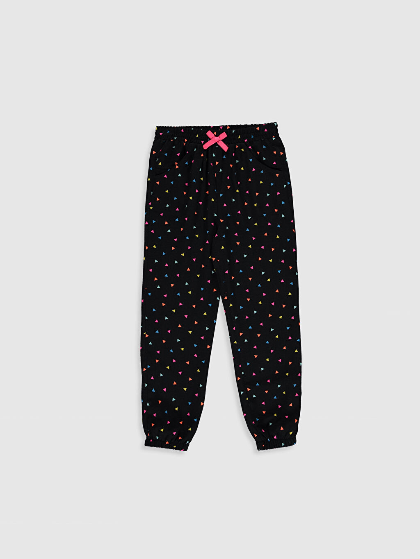 Pembe Kız Çocuk Viskon Jogger Pantolon 0S8260Z4 LC Waikiki