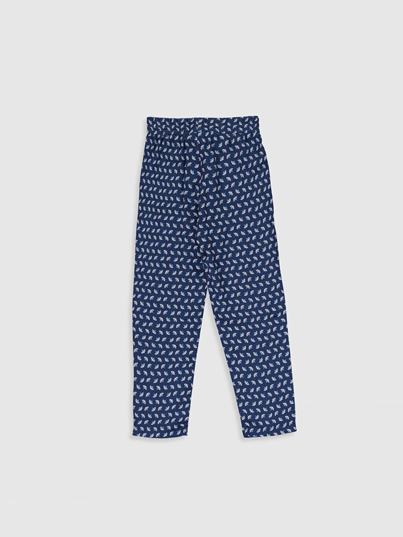 %100 Viskoz Normal Bel Standart Kız Çocuk Viskon Pantolon