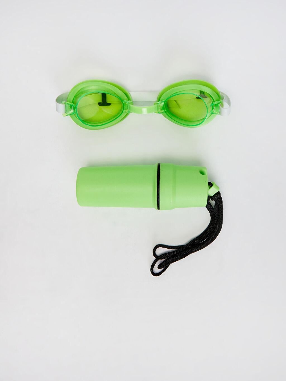 Plastik  Erkek Çocuk Deniz Gözlüğü Seti