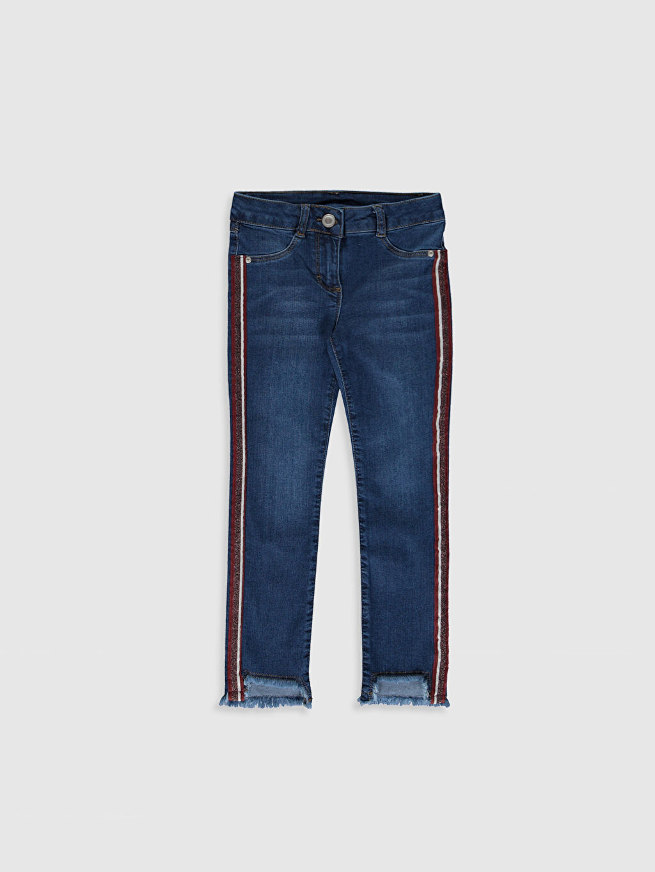 İndigo Kız Çocuk Slim Jean Pantolon 0S8522Z4 LC Waikiki