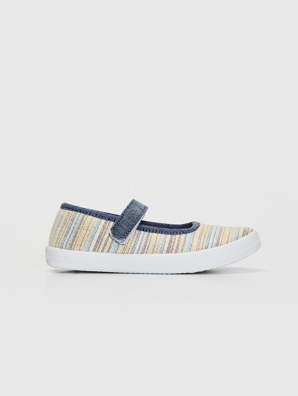Çok Renkli Kız Çocuk Babet Ayakkabı 0S8822Z4 LC Waikiki
