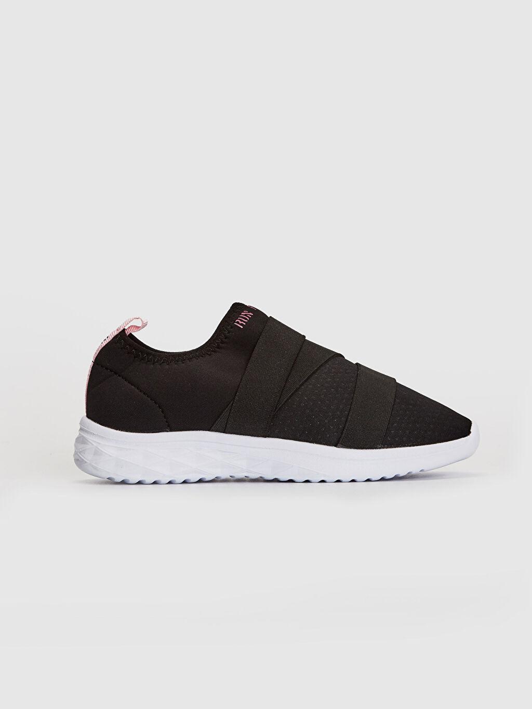 Siyah Kız Çocuk Kalın Taban Spor Ayakkabı 0S8832Z4 LC Waikiki