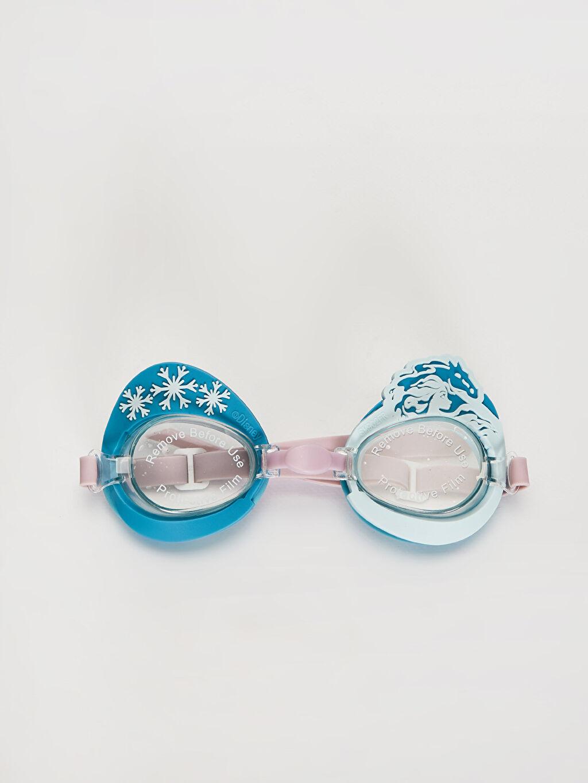 Plastik  Kız Çocuk Frozen Deniz Gözlüğü