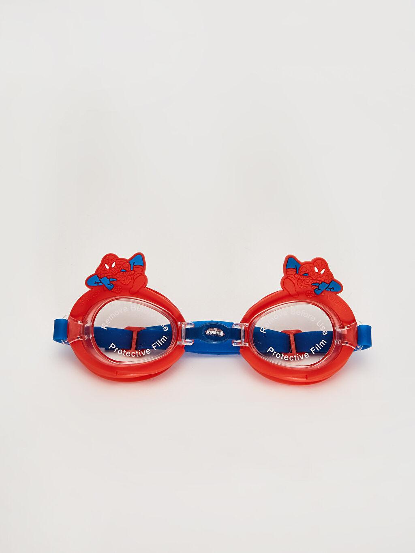 Plastik  Erkek Çocuk Spiderman Deniz Gözlüğü
