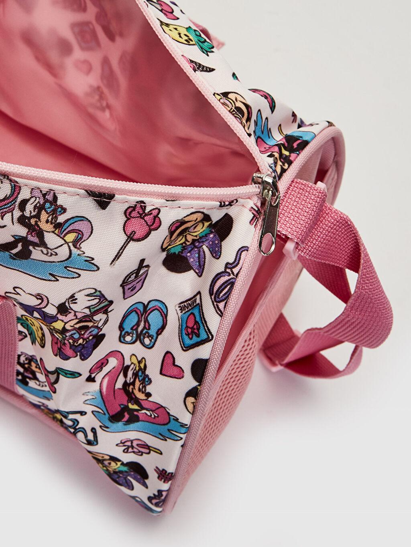 Kız Çocuk Kız Çocuk Minnie Mouse Baskılı Spor Çanta