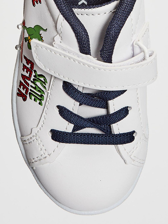 LC Waikiki Beyaz Erkek Çocuk Işıklı Günlük Ayakkabı