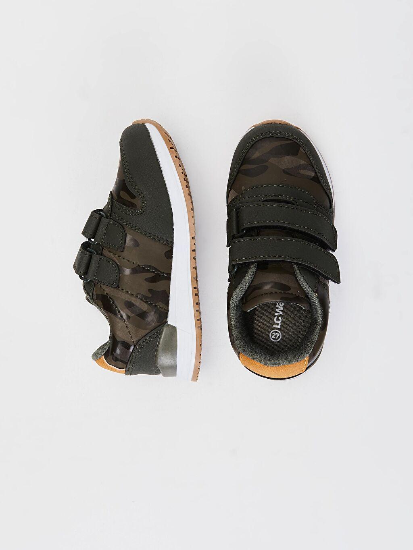 Diğer malzeme (pvc)  Erkek Çocuk Kamuflaj Desenli Günlük Ayakkabı