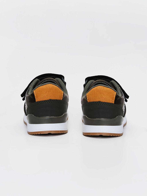 Erkek Çocuk Kamuflaj Desenli Günlük Ayakkabı