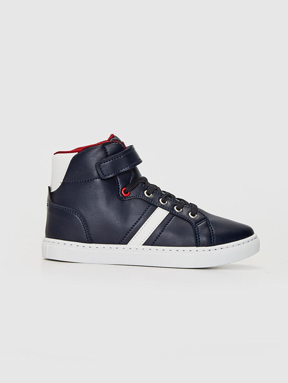 Lacivert Erkek Çocuk Sneaker Bot 0SG190Z4 LC Waikiki