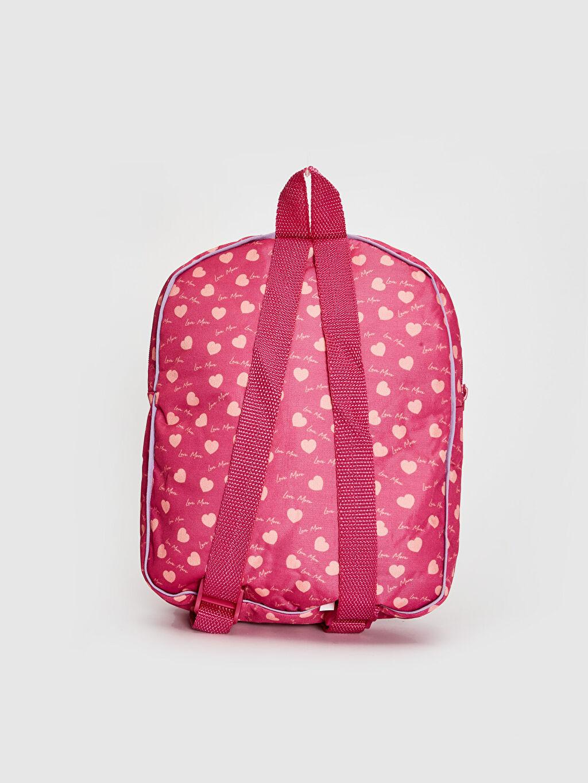 %100 Polyester %100 Polyester %100 Polyester  Kız Çocuk Pelüş Ayıcık Detaylı Sırt Çantası