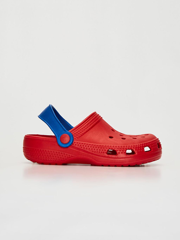 Kırmızı Erkek Çocuk Terlik Sandalet 0SH302Z4 LC Waikiki