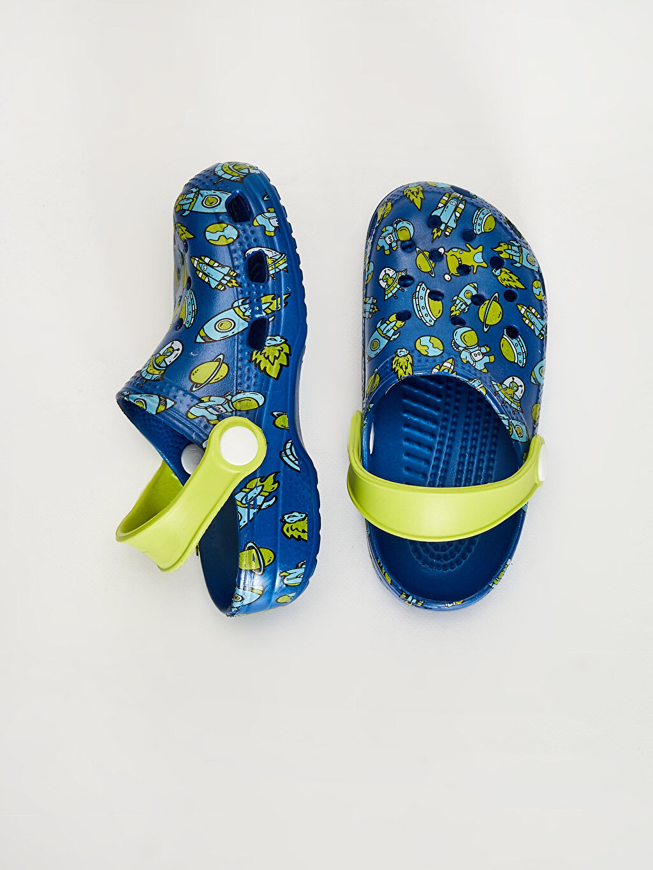Diğer malzeme (eva)  Erkek Çocuk Baskılı Sandalet