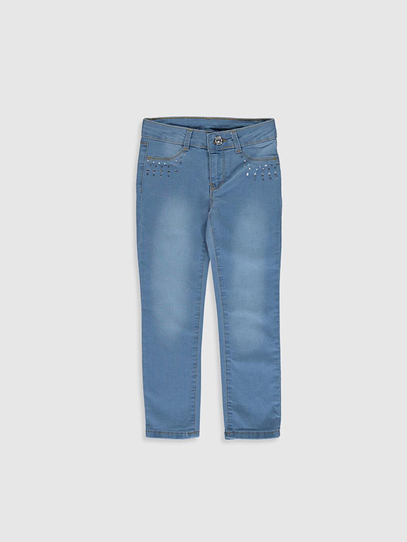 İndigo Kız Çocuk Slim Jean Pantolon 0SI356Z4 LC Waikiki
