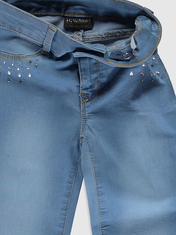 Kız Çocuk Kız Çocuk Slim Jean Pantolon