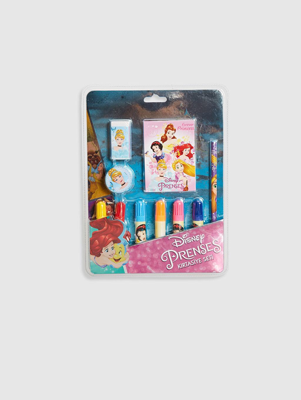 Çok Renkli Prenses Baskılı Kırtasiye Seti 0SI954Z4 LC Waikiki
