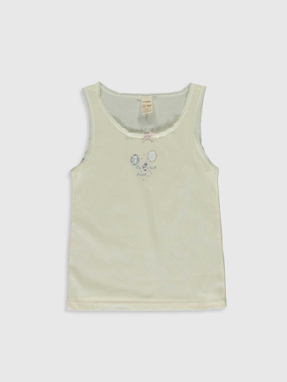 Kız Çocuk Kız Çocuk Organik Pamuklu Atlet 2'li