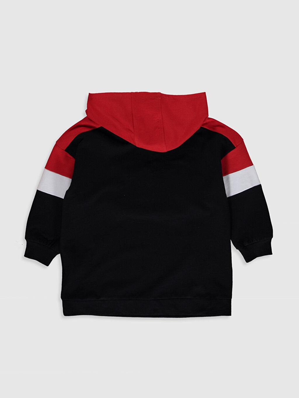 %100 Pamuk Diz Üstü Desenli Kız Çocuk Mickey Mouse Baskılı Pamuklu Elbise