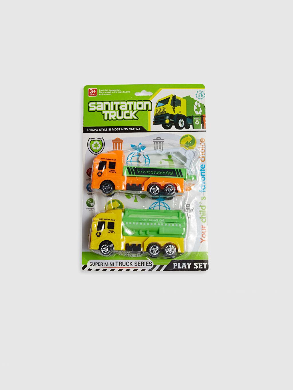 Çok Renkli Oyuncak 2'li Mini Kamyon Seti 0SJ771Z4 LC Waikiki