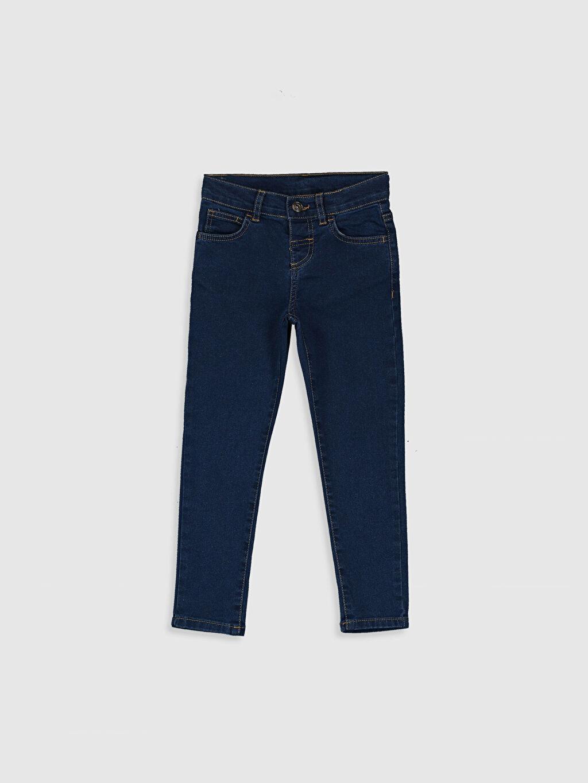 İndigo Erkek Çocuk Skinny Jean Pantolon 0SJ863Z4 LC Waikiki