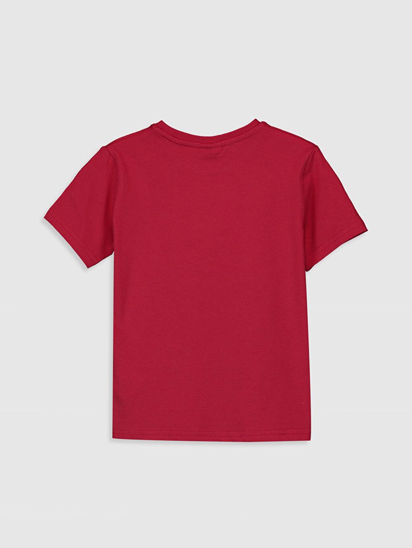 %100 Pamuk Normal Bisiklet Yaka Baskılı Tişört Kısa Kol Erkek Çocuk Atatürk Baskılı Pamuklu Tişört