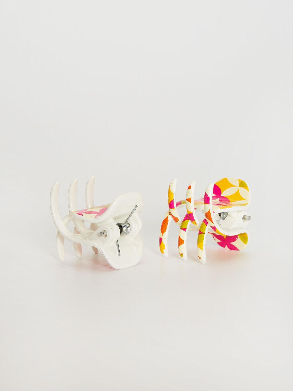 METAL+Plastik  Kız Çocuk Mandal Toka Seti