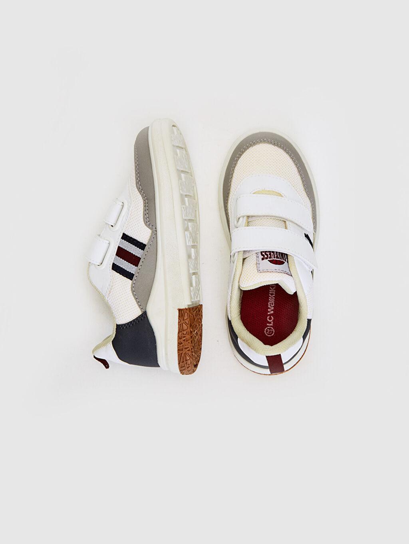 %0 Diğer malzeme (pvc) %0 Tekstil malzemeleri (%100 poliester)  Erkek Çocuk Günlük Spor Ayakkabı