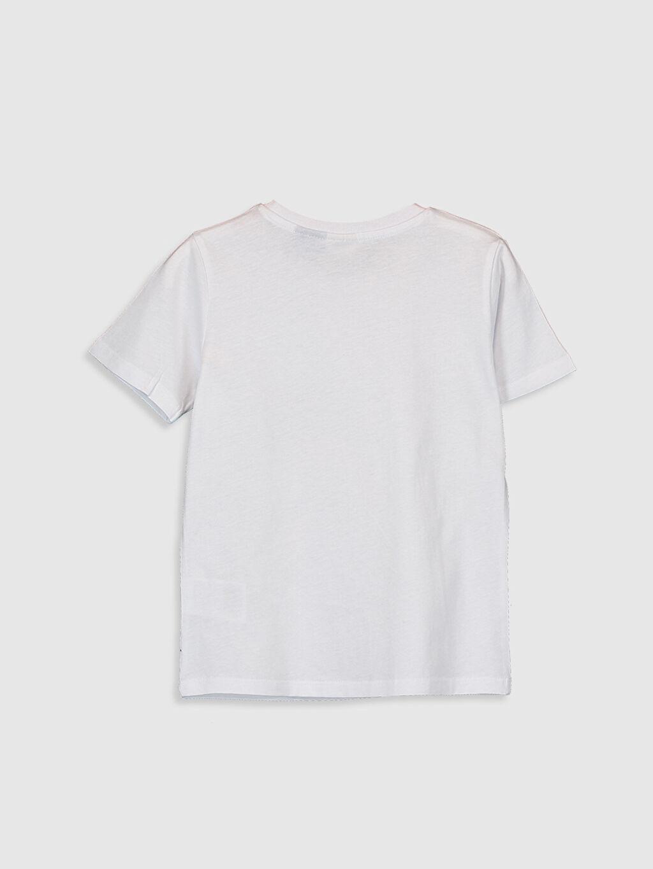 %100 Pamuk Baskılı Normal Bisiklet Yaka Tişört Kısa Kol Erkek Çocuk Tsubasa Baskılı Pamuklu Tişört