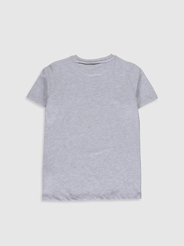%68 Pamuk %32 Polyester Baskılı Normal Bisiklet Yaka Tişört Kısa Kol Erkek Çocuk Angry Birds Baskılı Pamuklu Tişört
