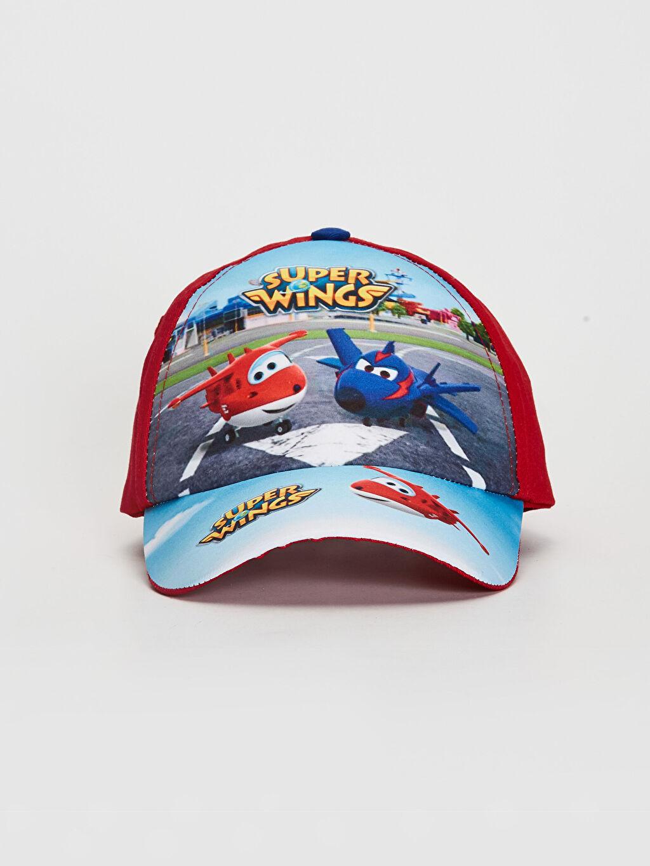 %100 Pamuk  Erkek Çocuk Harika Kanatlar Şapka