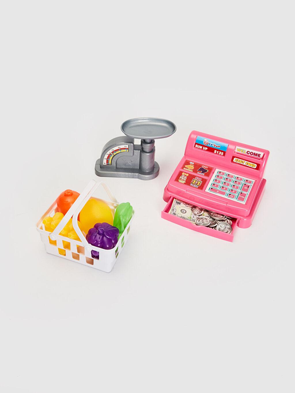 Plastik  Oyuncak Market Kasası Seti