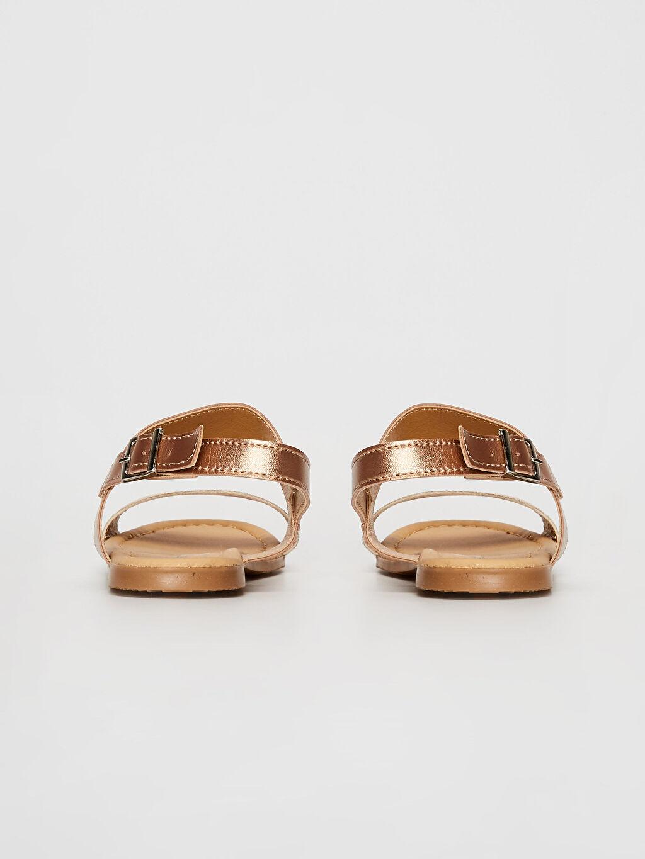 Kız Çocuk Parlak Sandalet