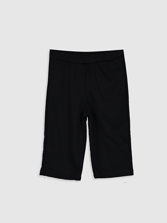 Siyah Kız Çocuk Basic Pantolon 0SN373Z4 LC Waikiki