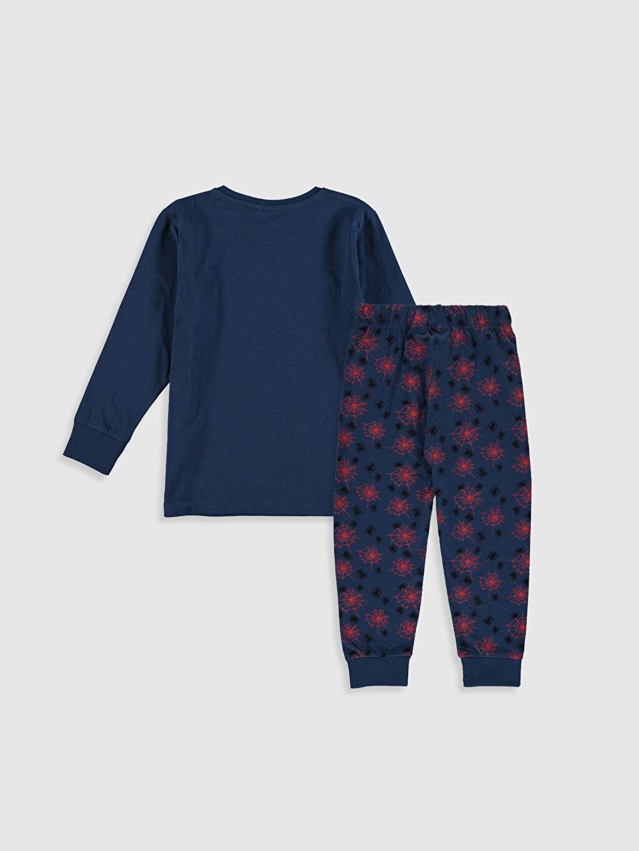 %100 Pamuk Pijamalar Standart Erkek Çocuk Spiderman Pamuklu Pijama Takımı