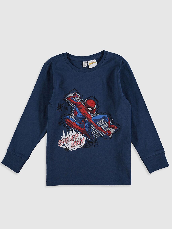 Erkek Çocuk Erkek Çocuk Spiderman Pamuklu Pijama Takımı