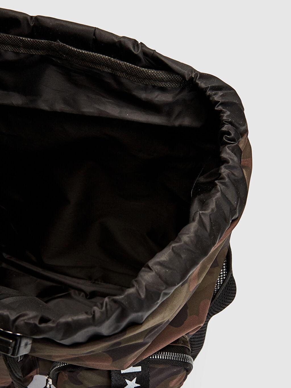 %100 Polyester Kız Çocuk Kamuflaj Desenli Sırt Çantası