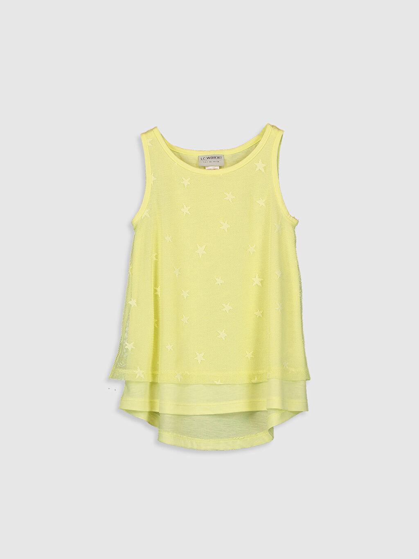 Sarı Kız Çocuk Tüllü Atlet 0SO460Z4 LC Waikiki