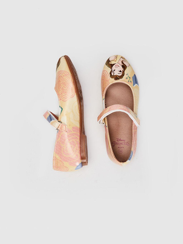 %0 Diğer malzeme (pvc)  Kız Çocuk Prenses Baskılı Babet Ayakkabı