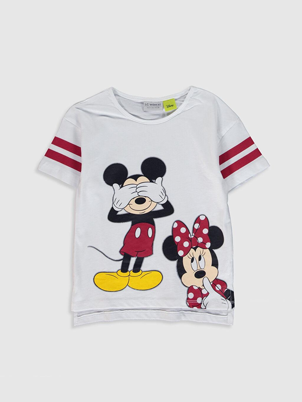 Kız Çocuk Kız Çocuk Minnie Mickey Baskılı Tişört ve Tayt