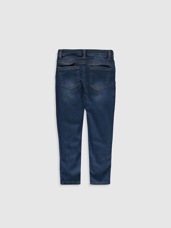 %29 Pamuk %8 Poliester %60 Lyocell %3 Elastan Normal Bel Dar Erkek Çocuk Super Skinny Jean Pantolon