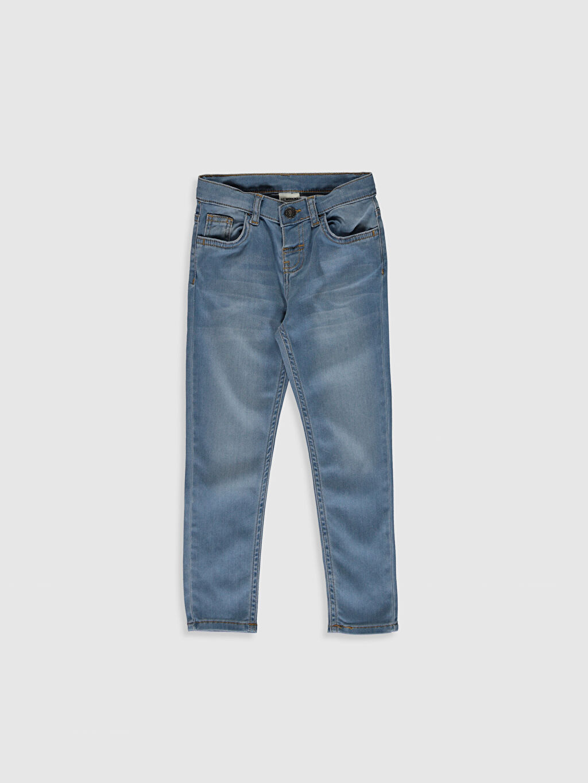 İndigo Erkek Çocuk Super Skinny Jean Pantolon 0SB317Z4 LC Waikiki