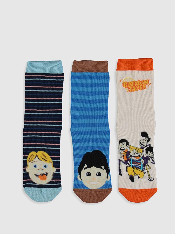 Erkek Çocuk Soket Çorap 3'lü