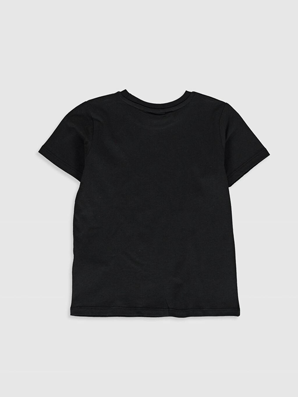 %100 Pamuk Baskılı Normal Bisiklet Yaka Tişört Kısa Kol Erkek Çocuk Looney Tunes Baskılı Pamuklu Tişört